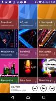 Music app - Sony Xperia E5  review