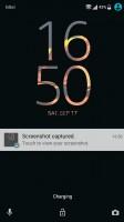 Lockscreen settings - Sony Xperia X Compact review