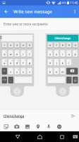 Customizeable SwiftKey keyboard - Sony Xperia X Performance review