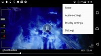 Video player - Sony Xperia X Performance review