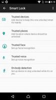 Lockscreen settings - Sony Xperia X review