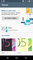 Xperia themes - Sony Xperia X review