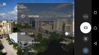 New Xperia camera UI - Sony Xperia X review