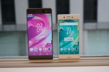 Xperia XA Ultra next to the Xperia X - Sony Xperia XA Ultra hands-on