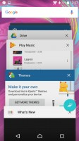 So is the app switcher (note: no small apps) - Sony Xperia XA Ultra review