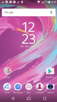 Homescreen - Sony Xperia XA review