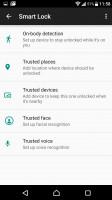 Smart lock - Sony Xperia XZ Preview