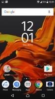 Homescreen - Sony Xperia XZ Preview