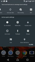 Notification area is vanilla Android - Sony Xperia XZ Preview