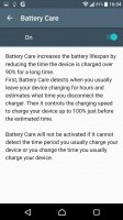 Battery Care - Sony Xperia XZ review