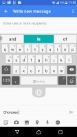 Customizeable SwiftKey keyboard - Sony Xperia XZ review