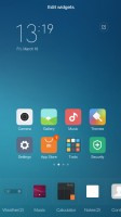 Adding widgets - Xiaomi Mi 4s review
