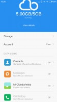 Configuring Mi Cloud - Xiaomi Mi 4s review