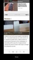Creating a scrolling screenshot - Xiaomi Mi 5s review