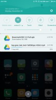 The notification drawer - Xiaomi Mi Note 2 review