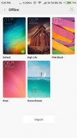 Many themes are available, including high-quality promo material from Xiaomi - Xiaomi Redmi 3 Pro review