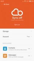 Configuring Mi Cloud - Xiaomi Redmi 3 review