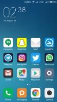 Homescreen - Xiaomi Redmi 3s Prime preview