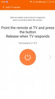 The Mi Remote app can share configured remotes with your family - Xiaomi Redmi 3S review