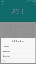 FM Radio: Sleep timer - Xiaomi Redmi Note 4 review