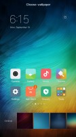 Customizing the homescreen - Xiaomi Redmi Pro  review