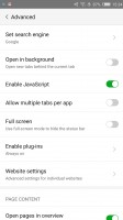 Default browser - Nubia Z11 review