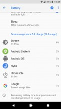 Old 'Device usage' list can be brought back - Android 8.0 Oreo review
