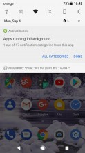 'Apps running in background' notification and how to get rid of it - Android 8.0 Oreo review
