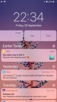 Notification Center - Apple iPhone 8 Plus review