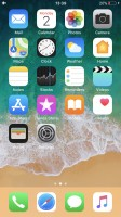 The homescreen - Apple iPhone 8 review