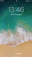 The lockscreen - Apple iPhone 8 review