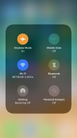 Expandable toggles - Apple iPhone 8 review