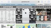 Safari - Apple iPhone 8 Plus review