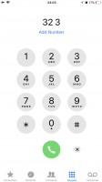 the dialer - Apple iPhone 8 review