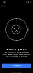 Settings up Face ID is easy - Apple iPhone X review