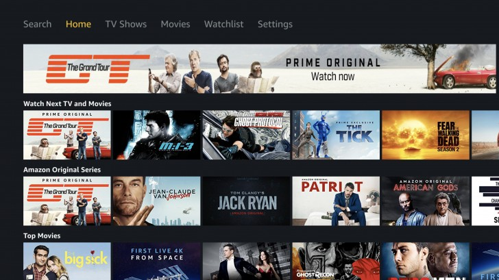 Apple Tv 4k Review Tv App Amazon Prime Video