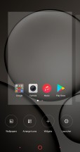 Launcher settings - Archos Diamond Omega review