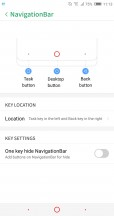 Navigation bar settings - Archos Diamond Omega review
