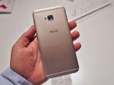 Asus Zenfone 4 Selfie Pro's satin-finished back - Asus Zenfone 4 hands-on