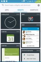 Widgets - Blackberry Keyone review