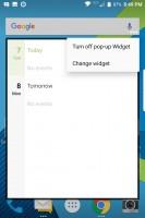 Pop-up settings - Blackberry Keyone review
