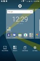 Launcher settings - Blackberry Keyone review
