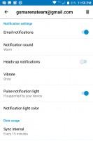 Settings - Blackberry Keyone review