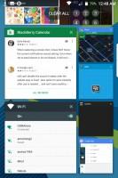 Masonry view - Blackberry Keyone review