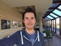 Selfie: inside - f/2.2, ISO 138, 1/100s - BlackBerry Motion review