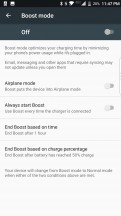 Boost mode: Settings - BlackBerry Motion review