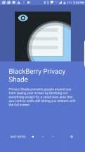 BlackBerry Privacy Shade - BlackBerry Motion review