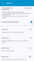 More settings - BlackBerry Motion review