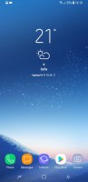 Samsung Galaxy S8 user interface - LG G6 vs. Galaxy S8 vs. Xperia XZ Premium review