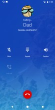 Dialer: In-call screen - Google Pixel 2 Xl review